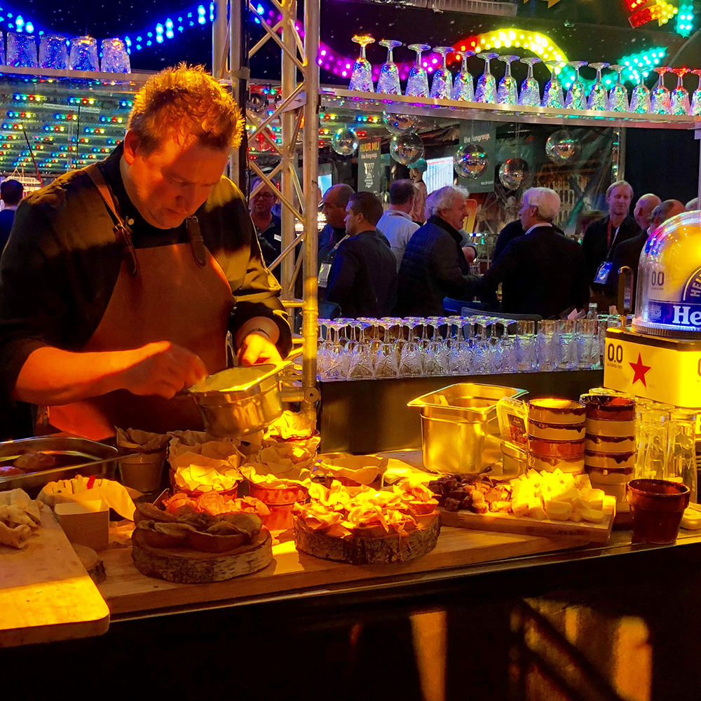 Beurs catering