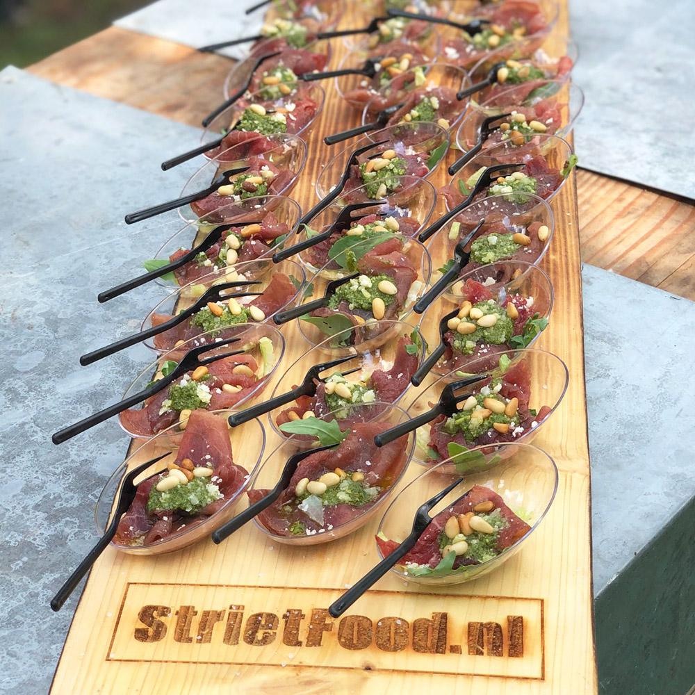 Strietfood festival op locatie